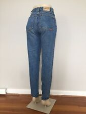 vtg Pepe Mom Jeans women's 26x31 High Waisted Tapered medium wash normcore 1871