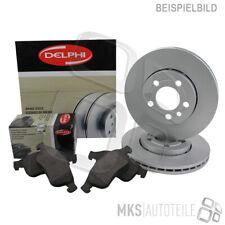 Delphi DISCHI FRENO + PASTIGLIE ANTERIORI ø258 per Ford Fiesta IV 3876639