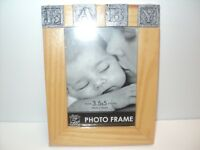 "NEW Baby Picture Frame by Special Moments For 3.5"" x 5"" Photos Wood"