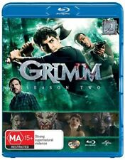 Grimm : Season 2 (Blu-ray, 2014, 5-Disc Set) RB AUSTRALIAN FORMAT BLU-RAY.