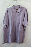New Men's Foundry Heather Purple Short Sleeve Polo Shirt Size 3XL