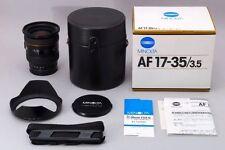 【AB Exc+】 Minolta Maxxum AF ZOOM 17-35mm f/3.5 G Lens w/Box, Hood JAPAN #2607