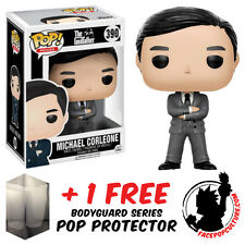 FUNKO POP GODFATHER MICHAEL CORLEONE GREY SUIT EXCLUSIVE + FREE POP PROTECTOR
