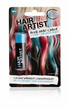 Chalk Blue Hair Colouring