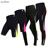 Ladies Cycling Tights Gel Padded Pants Women Cycle Bicycle Trousers Bike Shorts