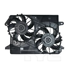 For Chrysler 300 Dodge Charger Magnum Dual Radiator & Condenser Fan TYC 621160