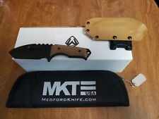 Medford Knife emperor fixed blade pvd coating