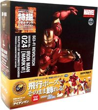 Marvel Sci-Fi Revoltech Iron Man Super Poseable Action Figure #024 [Mark VI]
