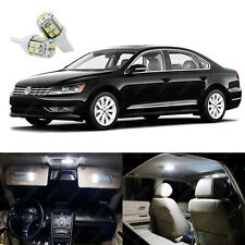 15 x Pure White LED Interior Light Kit Pack For Volkswagen Passat 2012 - 2017