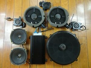 Bose 9-Piece Car Sound System *Powered* Speakers Cadillac Seville SLS STS 98-04
