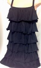 Dodo + Angelika Dress Cotton Black 6 Layers Of Fabric Size Small NWT$1495