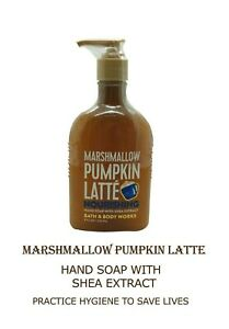 Bath And Body Works Marshmallow Pumpkin Latte Nourishing Hand Soap 236 ml