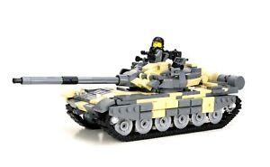 T-72 Russian Battle Tank custom set made with REAL LEGO® bricks