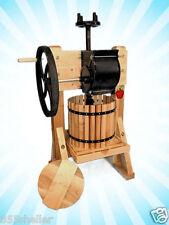 Happy Valley Ranch Homesteader Cider Press & Grinder Wine Apple Juice