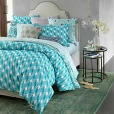 JOHN ROBSHAW Jamali 100 Cotton QUEEN DUVET COVER
