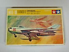 Vintage Tamiya Mig-19 Farmer-E 1/100 Scale Model Kit New Unbuilt with Box