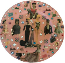 Barbie Nostalgic Analog Wall Clock Mattel Designs From The Deep Inc Dftd Signed