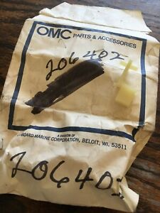 New OEM 206402 OMC 0206402  CONTROL ADJUSTMENT LINK 50-125 HP 1970-72 OUTBOARDS