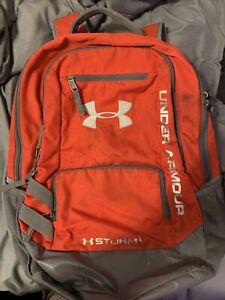 Red Under armor Backpack