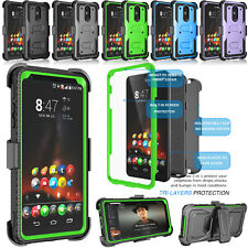 For LG Stylo 4 Case With Screen Protector 360 Hard Cover Holster Clip Shockproof
