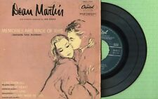 DEAN MARTIN Memories Are Made Of This CAPITOL EAP 1-701 Pres Spain 1956 EP VG+
