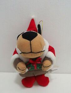 "Wacky Races Muttley Dog Christmas Xmas Sun.L Plush 6"" Doll Japan Hanna-Barbera"