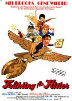 Frühling für Hitler ORIGINAL A1 Kinoplakat Mel Brooks / Gene Wilder / ART: DILL