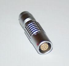 LEMO 8 PIN CABLE MOUNT SOCKET PHG.1B.308.CLLD72