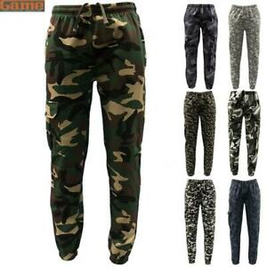 Game Mens Army ACU Digital Camouflage Jogging Bottoms Military Camo Jogger
