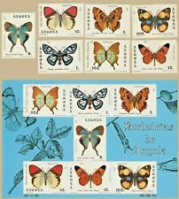 Angola 1982- butterflies -  complete set + S/S MNH