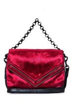 NWT MATT & NAT RARE Velvet Vl mini Hendrix Crossbody Bag RED