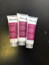 3X Murad Age Reform AHA/BHA Exfoliating Cleaner 1oz Each Travel Ipsy Set of 3