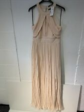 Tfnc London Peach Long Evening Maxi Dress Size 10 Brand New With Tags