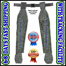 Chain Mail Leggings Flat Riveted Flat Washer Legging Medieval Chainmail Chausses