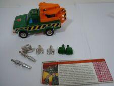 Hoist - 1985 G1 Transformers Toyota Hi-Lux Truck Action Figure w/missiles etc.