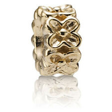 PANDORA | 14K GOLD ALOHA SPACER 750465 *NEW* Authentic RETIRED RARE 585 ALE USA