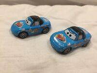 Disney Pixar Cars DINOCO TIA  MIA 1:55 MATTEL BUNDLE Diecast TOKYO DRIFT MATER X