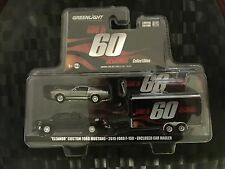 GREENLIGHT Hollywood Hitch & Tow - GONE IN 60 SECONDS - Eleanor & Trailer - 1:64