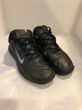 Men's Nike Tiger Woods TW 13 Golf Shoes Size 12 Black Red 532622 001