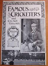 RARE Original Famous Cricketers, J.H.Stogdon, Harrow, Eton Cricket Ground 1895