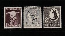 1938 SET OF THREE SHILLING VALUES SUPERB & FRESH MINT UNHINGED