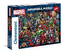 IMPOSSIBLE PUZZLE - MARVEL UNIVERSE - Clementoni 39411 - 1000 Pcs.