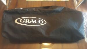 Graco Pack N Play Replacement Carrying Travel Protective Storage Bag Black