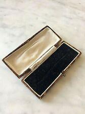 Brooch Box Edwardian  Antique  Jewellery Case (1094J)