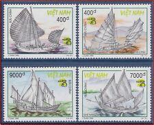 VIETNAM N°1807/1810 (*) Bateaux, 1999 Vietnam 2875-2878 sailing vaissels NGAI