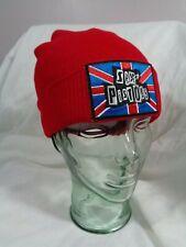 sex pistols beanie knit hat cap punk rock skate alt ramones the clash misfits