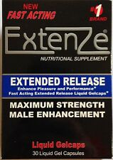 EXTENZE Extended Release Maximum Strength Fast Acting Male Enhancement 30 Pills