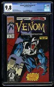 Venom: Lethal Protector #2 CGC NM/M 9.8 White Pages