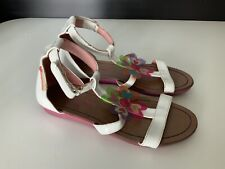Agatha Ruiz La Prada Girls Sandals, Size Uk 1.5, Eu33, White, GC