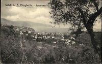 Santa Margherita Ligure Italien Italia Ligurien 1911 Landschaft Stadt Panorama
